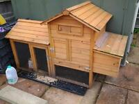Chicken Coop With Nest Box