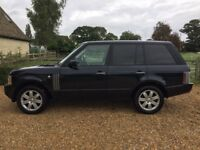 Selling Range Rover in excellent condition, 1 year MOT