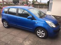 Nissan Note 2006 1.4 Blue