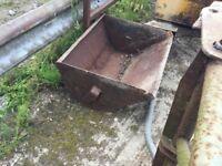 Massey Ferguson grey fergie front end loader