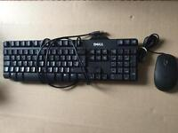 Dell keyboard and usb mouse