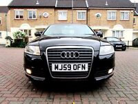 AUDI A6 2.0 TDI SE AUTOMATIC 170 BHP 4 DOOR SALOON FSH HPI CLEAR SATNAV LEATHER EXCELLENT CONDITION