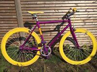 "No Logo Fixie / Single Speed Bike - 20"" frame"