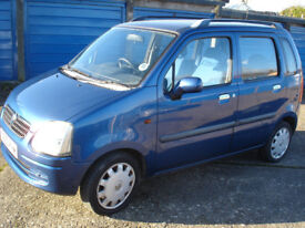 vauxhall agila design 1.2 16v multi purpose vehicle low mileage