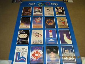 WINTER OLYMPICS 1988 COMPLETE BEER CAN + POSTER COLLECTION Kitchener / Waterloo Kitchener Area image 2