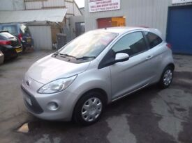 Ford KA Edge,3 door hatchback,FSH,1 previous owner,2 keys,runs and drives very well,£30 year tax,51k