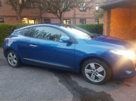 Renault Megane Coupe Dynamique VVT 1.6 Blue Manual Petrol