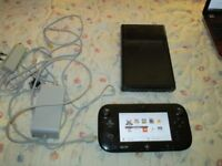 WII U 32GB CONSOLE BUNDLE,MARIO KART,SPLATOON BUILT IN.