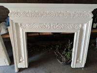 Fire place and base