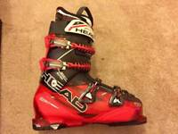 Head Adapt Edge Ski Boots And Skis