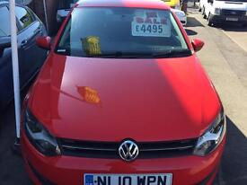 Volkswagen Polo Moda 70 1.2 Petrol 3 Door 2010/10 Reg 3 Month Warranty Finance Available £4495