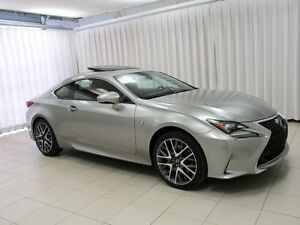 2015 Lexus RC 350 F-SPORT AWD V6 COUPE