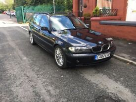 BMW E46 318i SE Touring - Black - 2002 - Short MOT 03/10/17