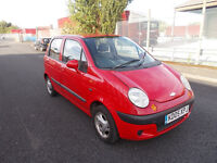 2005 Chevrolet Matiz, 5 Door, 12 Months Mot, 998CC, Drives Well, Cheap Car, New Brakes