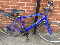 "Men's 19"" CX10 hybrid bike bicycle inc free lights & delivery"