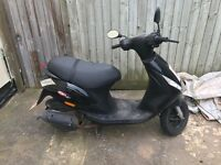 Zip 50cc moped 16 plate