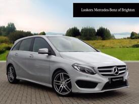 Mercedes-Benz B Class B 180 D AMG LINE PREMIUM PLUS (silver) 2016-03-17