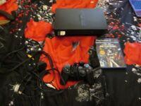 BLACK PS2 CONSOLE BUNDLE STAR WARS BATTLEFRONT