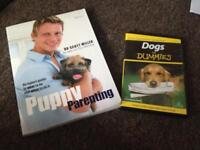 Dogs for dummies DVD. & Puppy parenting book vgc