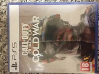 Cold War PS5 new and still sealed