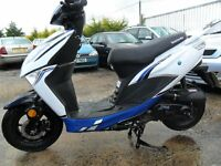 lexmoto echo 50cc schooter 2016 2300 miles/km