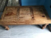 Solid Oak Centre Table
