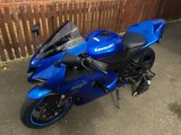 Excellent condition Kawasaki ZX6R P8F, 12500 miles - Two Brothers Exhaust & Tasteful mods