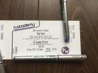3 x SHED SEVEN TICKETS Shed 7 O2 Academy Brixton 16 December Gig Concert Indie Music Cast