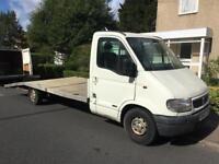 2001 Vauxhall Movano recovery truck 2.5di Aluminium bed long mot LEZ EXEMPT