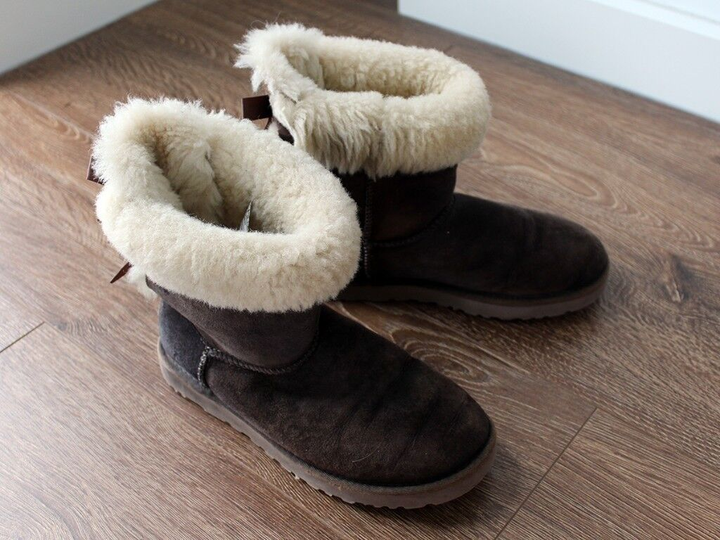 f43fb9f82ed Authentic UGG Bailey Bow Boots (Size 5.5) Used RRP £185 | in Greenwich,  London | Gumtree