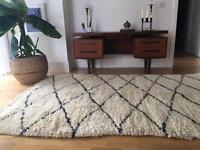 Original Beni Ourain Berber rug