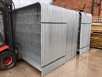 💧New Round Top Heras * Temporary Security Fencing Sets