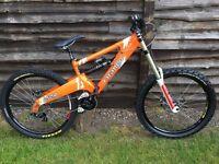 2013 Orange 224 evolution medium downhill