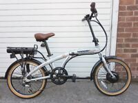 Hopper Urban SE folding Electro power assisted bike