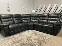 Beautiful SCS electric recliner corner sofa