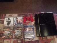 60GB PS3, 4 Games and 1 Controller