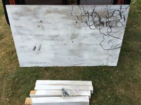 Hard wood Art and Crafts Desk