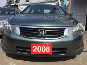 2008 Honda Accord EX Low KM 153K Sunroof Alloys AUX input All Po