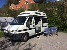 Autosleeper Symphony campervan with toilet/shower
