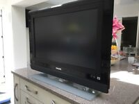 "Phillips flat screen 32"" TV"