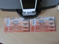 Two Wishbone Ash tickets at the Ironworks