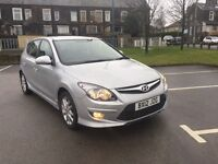 2012 Hyundai i30 1.6 crdi 6 speed full dealer history 12 months mot top of range priced to sell px