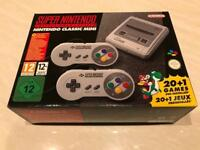 SNES Super Nintendo Classic Mini Video Games Console