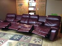 Theatre Style Reclining Couch