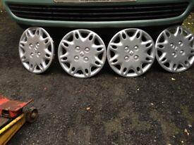 13 inch Renault wheel trim