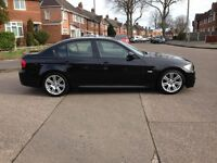 Bmw 318d M-Sport 2009/59 FSH/9 dealer stamps 6 speed manual 141bhp 2-owners £4995