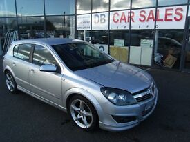 AUTOMATIC !!! 2007 57 VAUXHALL ASTRA 1.8 SRI 16V XP E4 5d AUTO 140 BHP ** GUARANTEED FINANCE **