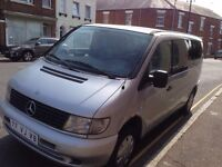 CLEAN LEFT HAND DRIVE MERCEDES BENZ VITO, DRIVES PERFECTLY, ENGINE & MECHANICS IN GOOD FORM.CALL ME