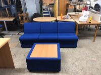 3 x reception chairs / plus table / delivery local FOC