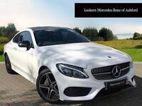 Mercedes-Benz C Class C 220 D AMG LINE PREMIUM (white) 2017-04-05